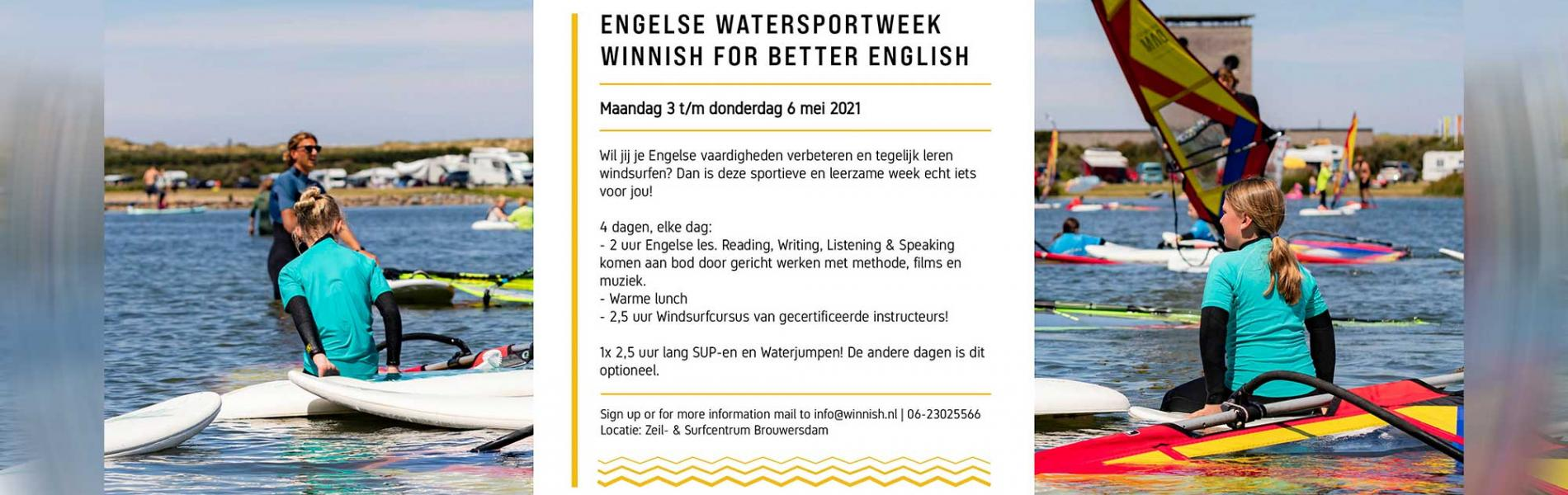 Engelse watersport week!